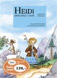 Heidi děvčátko z hor - obálka