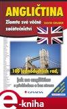 Angličtina - zlomte své věčné začátečnictví (100 jednoduchých rad, jak na angličtinu efektivně a bez stresu) - obálka