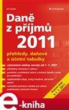 Daně z příjmů 2011 - obálka