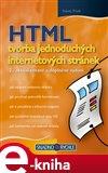 HTML - tvorba jednoduchých internetových stránek (2., aktualizované a doplněné vydání) - obálka