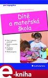 Dítě a mateřská škola - obálka