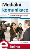 Mediální komunikace pro management - obálka
