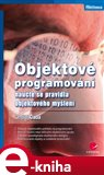 Objektové programování (naučte se pravidla objektového myšlení) - obálka