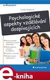 Psychologické aspekty vzdělávání dospívajících - obálka