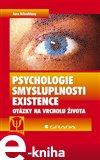 Psychologie smysluplnosti existence - obálka