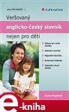 Veršovaný anglicko-český slovník nejen pro děti - obálka