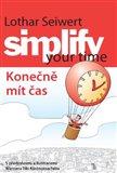 Simplify your time – Konečně mít čas - obálka