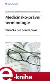 Medicínsko-právní terminologie - obálka