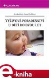 Výživové poradenství u dětí do dvou let - obálka