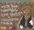 Dobrodružství Toma Sawyera a Huckleberryho Finna - obálka