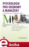 Psychologie pro ekonomy a manažery - obálka