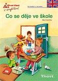 Co se děje ve škole (První čtení v angličtině) - obálka