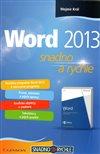 Obálka knihy Word 2013