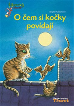 O čem si kočky povídají. Šikovný čtenář - Brigitte Kollochová