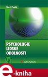 Psychologie lidské odolnosti - obálka