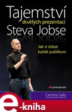 Tajemství skvělých prezentací Steva Jobse - obálka