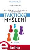 Taktické myšlení (50 cvičení, které změní způsob vašeho myšlení) - obálka