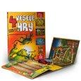4 veselé hry (Leporelo herních plánů s kostkou a figurkami) - obálka