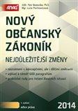 Nový občanský zákoník 2014 (Nejdůležitější změny) - obálka