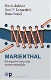 Marienthal (Sociografie komunity nezaměstnaných) - obálka