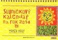 Sluníčkový kalendář 2014 - stolní - obálka