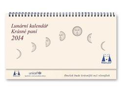 Lunární kalendář Krásné paní 2014 - Žofie Kanyzová