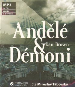 Andělé a démoni, CD - Dan Brown