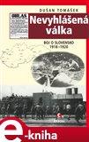 Nevyhlášená válka (Boje o Slovensko 1918–1920) - obálka