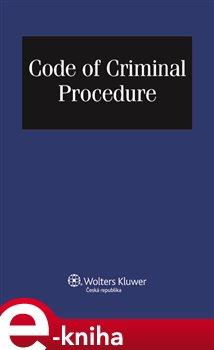 Obálka titulu Code of Criminal Procedure