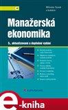 Manažerská ekonomika - obálka