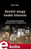 Zaváté stopy české historie - obálka