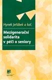 Mezigenerační solidarita v péči o seniory - obálka