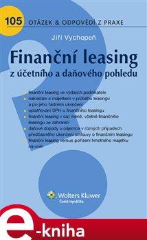 Obálka titulu Finanční leasing z účetního a daňového pohledu