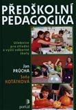 Předškolní pedagogika - obálka
