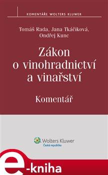 Obálka titulu Zákon o vinohradnictví a vinařství