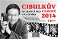 Cibulkův kalendář pro filmové pamětníky 2014 - obálka