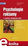 Psychologie reklamy (Elektronická kniha) - obálka