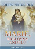 Marie, královna andělů (Kniha + 44 karet) - obálka