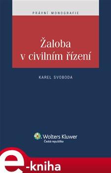 Obálka titulu Žaloba v civilním řízení