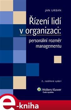 Obálka titulu Řízení lidí v organizaci