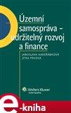 Územní samospráva - udržitelný rozvoj a finance - obálka