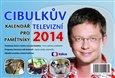 Cibulkův kalendář pro televizní pamětníky 2014 - obálka
