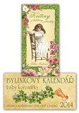 Bylinkový kalendář 2014 + Květiny z babiččiny zahrádky - obálka