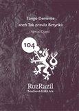 Tango Demente (aneb Tak pravila Betynka, edice Rozrazil č. 104) - obálka