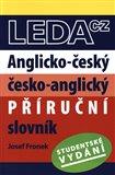 Anglicko-český a česko-anglický příruční slovník (studentské vydání) - obálka