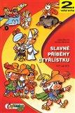 Slavné příběhy čtyřlístku (1971-1974 - 2. velká kniha) - obálka