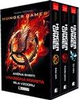 Hunger Games - 3 knihy v dárkovém boxu (Aréna smrti. Vražedná pomsta. Síla vzdoru.) - obálka