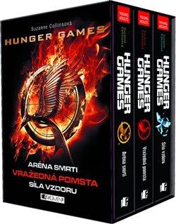Hunger Games - 3 knihy v dárkovém boxu. Aréna smrti. Vražedná pomsta. Síla vzdoru. - Suzanne Collins