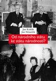 Od národního státu ke státu národností? (Národnostní statut a snahy o řešení menšinové otázky v Československu v roce 1938) - obálka