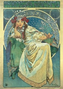 Puzzle Alfons Mucha: Princezna Hyacinta 1000 dílků